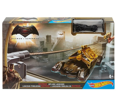 hot wheels  dpl87 set de joc  dc comics in sort