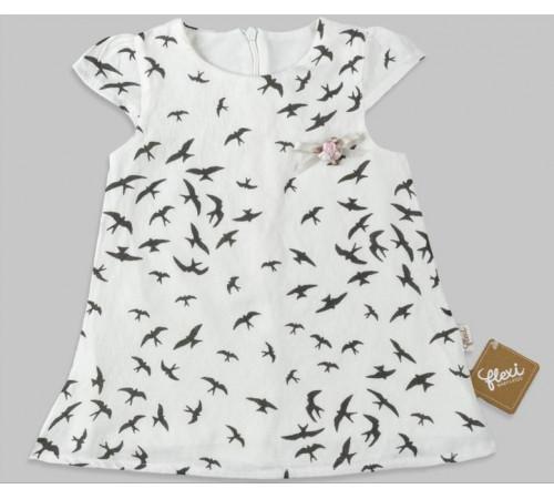 Одежда для малышей в Молдове flexi 229248 Платье (9-12-18-24 мес.)