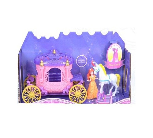 "Детскиймагазин в Кишиневе в Молдове op Д01.346 Набор ""Карета с куклой"""