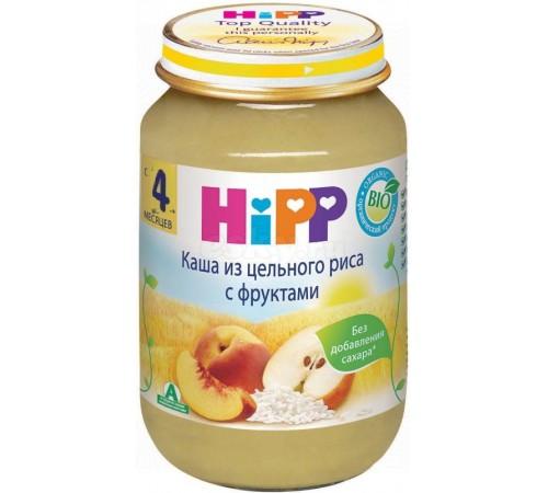 hipp 4703 terci de orez integral cu fructe 190 gr. (4m+)