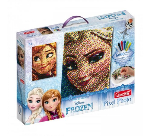 Детскиймагазин в Кишиневе в Молдове quercetti 0806 Пиксельная мозаика frozen