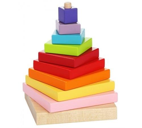 """cubika 13357 jucărie din lemn """"piramida"""""""