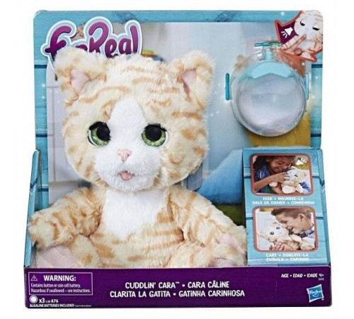 """furreal friends e0418 jucărie interactivă """"feed and care kitty"""""""