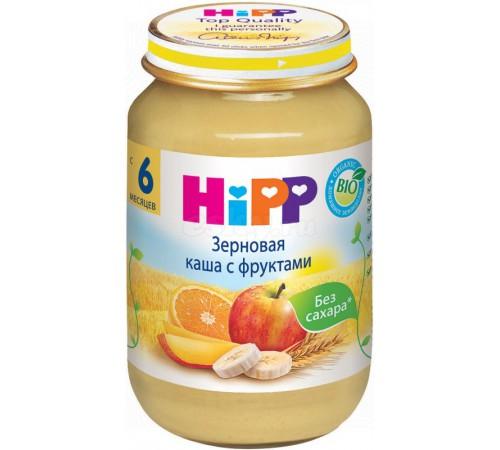 hipp 4800 Зерновая каша с фруктами (6м+) 190 гр.