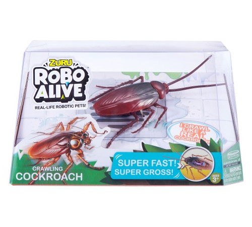 "zuru robo alive 7112 Интерактивная игрушка ""Таракан"""