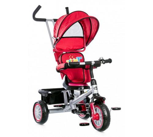 chipolino Трицикл twister trkt01505re красный