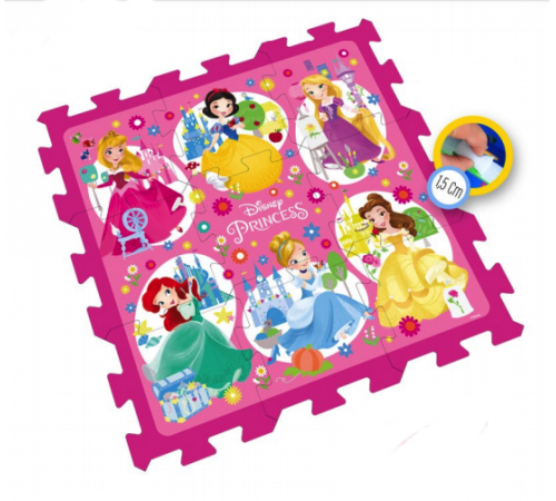 stamp tp880002 Коврик с принцессами disney