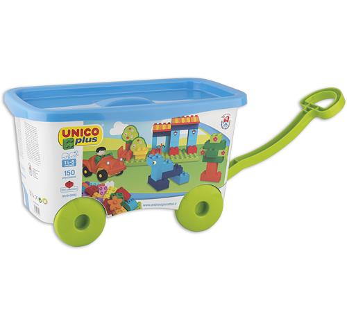 """Jucării pentru Copii - Magazin Online de Jucării ieftine in Chisinau Baby-Boom in Moldova androni 8519-0000 constructor unicoplus """"cărucior"""" (150 el.)"""