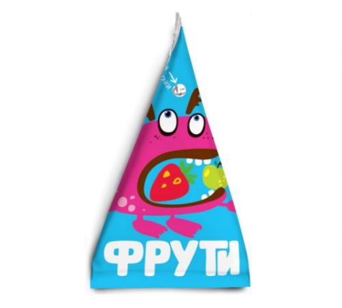 """"""" Маленькое счастье """" . Пюре  """"Фрути"""" яблоко-клубника 65 г  (3+)"""