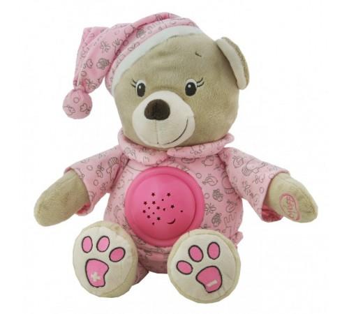 """baby mix ee-te-8465-30 pink proiector muzical """"ursulet"""""""