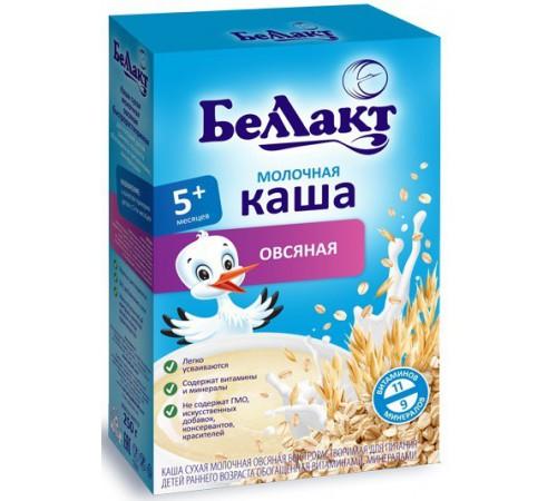 Беллакт каша молочная овсяная (5m+) 200 гр.