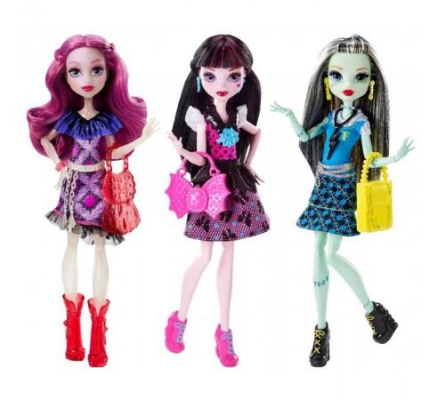 """monster high dnw97 Кукла """"Модная ученица"""" в асс. (3)"""