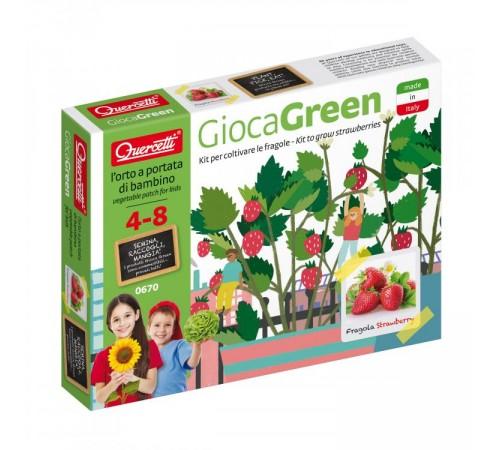 Детскиймагазин в Кишиневе в Молдове quercetti 0670 Игровой набор ВЫРАСТИ САМ клубника play green small strawberry