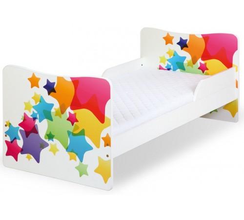 klups Кровать timo/Звёздочки (140x70 см. )