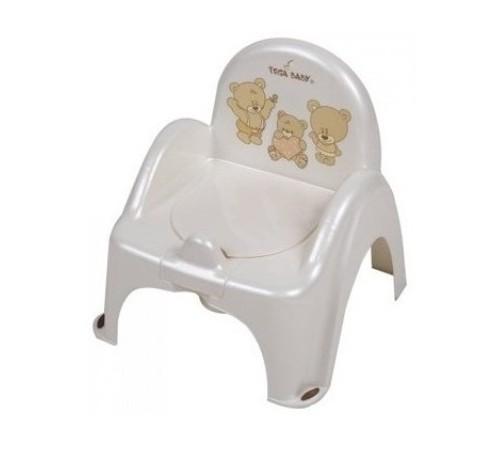 tega baby Горшок-кресло Мишка ms-012-118 жемчуг