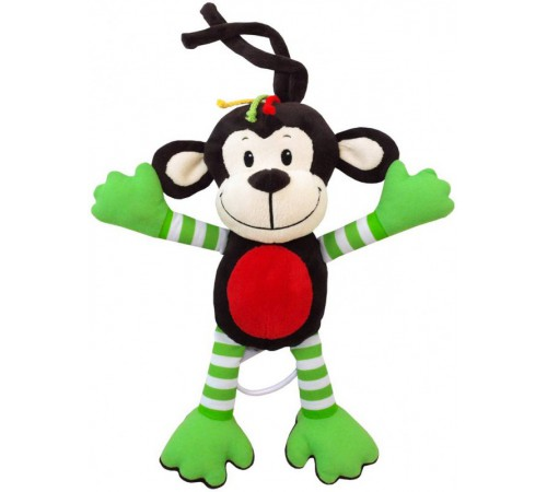 "Jucării pentru Copii - Magazin Online de Jucării ieftine in Chisinau Baby-Boom in Moldova baby mix ef-te-8124-30 zuruitoare de pluș muzicala """"maimuta"""
