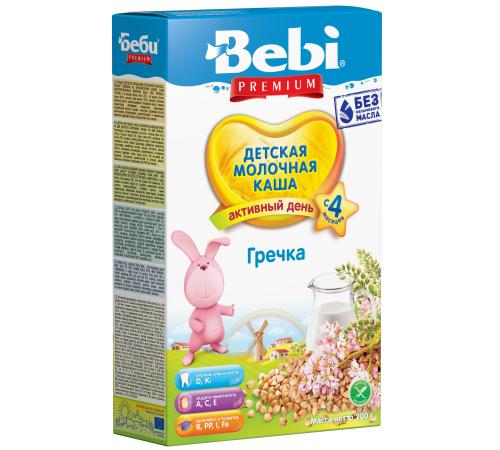 bebi Молочная гречневая каша premium (4+) 200 гр.