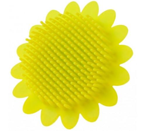 """roxy rsb-002  bureta din silicon pentru baie """"floarea-soarelui"""" verde"""