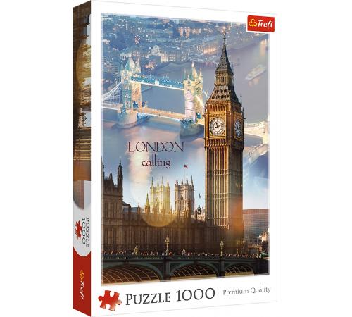 "trefl 10395 Пазлы ""Лондон на рассвете"" (1000 эл.)"