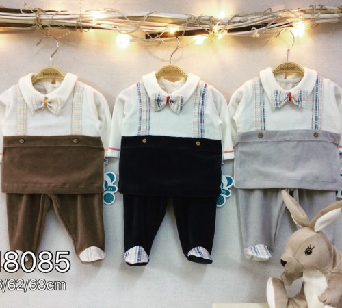 Одежда для малышей в Молдове twetoon baby  Комплект велюровый 2ед. (штанишки и батник) 118085