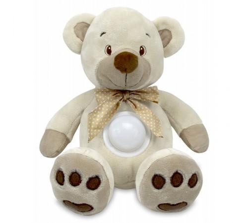 baby mix stk-13138 cream Плюшевый медведь с музыкой и светом