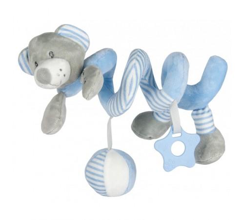 """baby mix stk-19391 bb Спираль для коляски """"Мишка"""" голубой"""