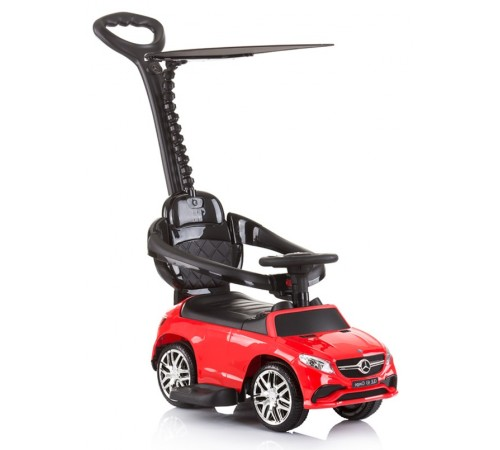 chipolino mașină cu mâner mercedes amg glЕ 63  rocgl630192r rosu