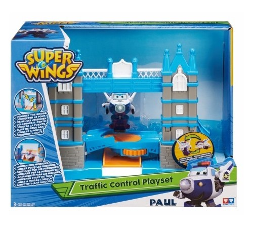 """super wings eu710810 set de joc """"podul turnului"""""""