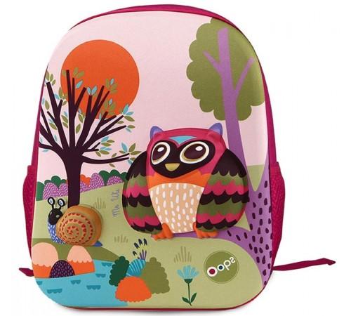 """Одежда для малышей в Молдове oops 30014.10 Детский рюкзак 3d """"Сова"""""""