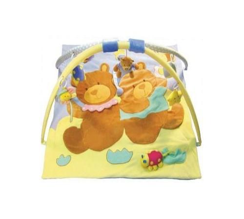 """Игрушки в Молдове baby mix tk/3090c Игровой развивающий коврик """"Мишки Близнецы"""""""
