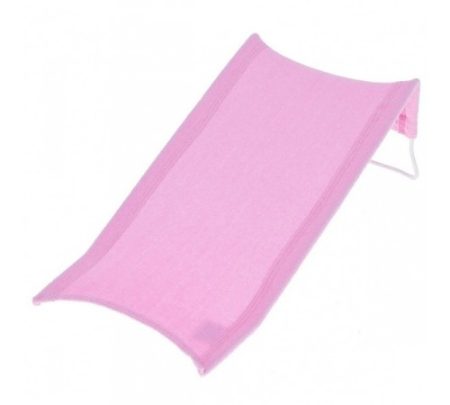 tega baby Лежачёк для ванны махровый dm-015-136 розовый