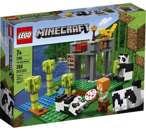 """lego minecraft 21158 Конструктор """"Питомник панд"""" (204 дет.)"""
