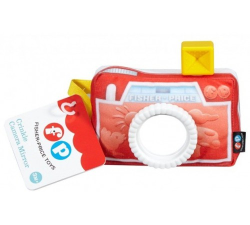 """fisher price dfr11 Мягкая игрушка """"Фотоаппарат"""""""