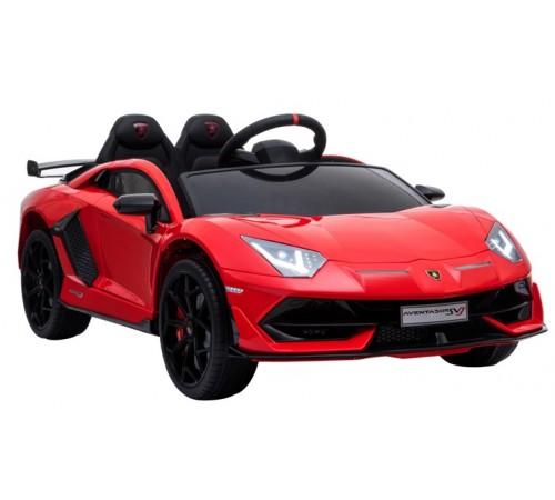 chipolino mașină cu bateri  elklasvj02r lamborghini aventador svj roșu