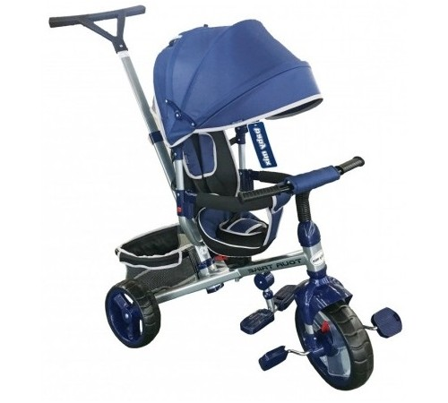 baby mix ur-xg-8341 navy Трицикл синий