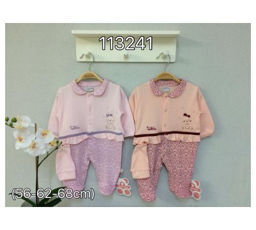 Одежда для малышей в Молдове twetoon baby 113241  Комбинезон с чепчиком в асс