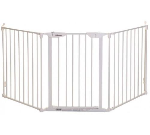 "dreambaby g2022bb Ворота безопасности 3 секции ""newport adapta gate"" (85,5 - 210 см.) белый"