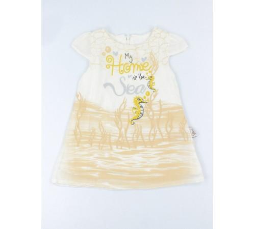 """Одежда для малышей в Молдове twetoon baby 229106 Платье """"my home is the sea"""" в асс. (9-24 мес.)"""