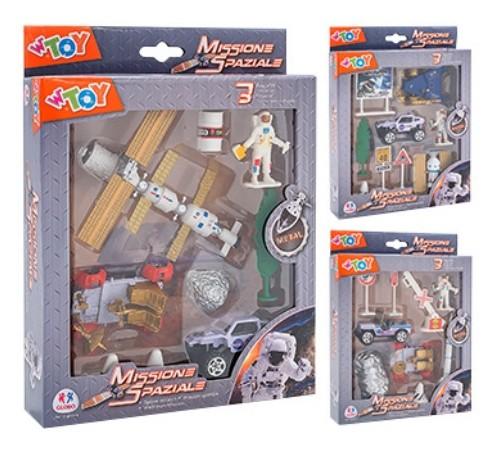 globo 38346 Игровой набор космической техники  w'toy в асс.