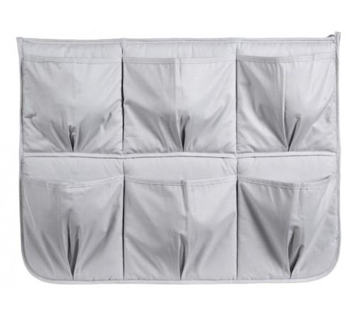 klups Карман-органайзер для кроватки (серый)