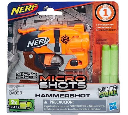 nerf e0489 Бластер micro shots  в асс.