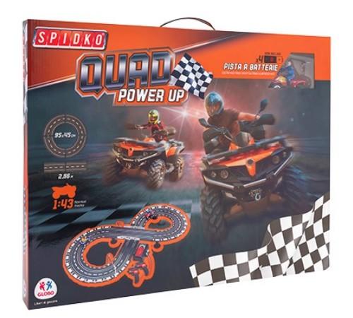 globo 33929 Гоночный трек spidko quad power up