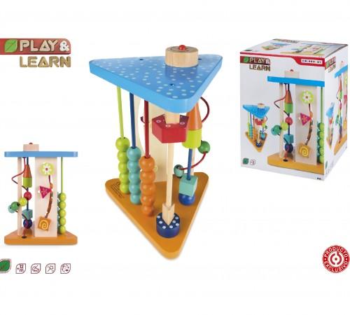 """Jucării pentru Copii - Magazin Online de Jucării ieftine in Chisinau Baby-Boom in Moldova color baby 40996 jucarie din lemn """"joacă şi învaţă"""""""