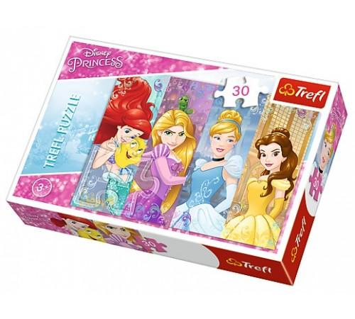 "trefl 18205 Пазлы ""disney princess - Сказочные принцессы"" (30 эл.)"