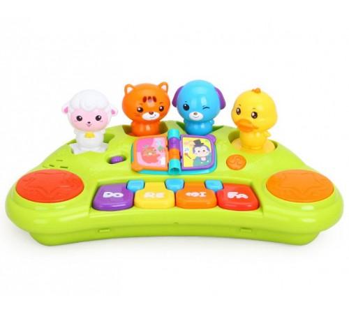 Детскиймагазин в Кишиневе в Молдове hola toys 2103a Пианино животные с муз и светом