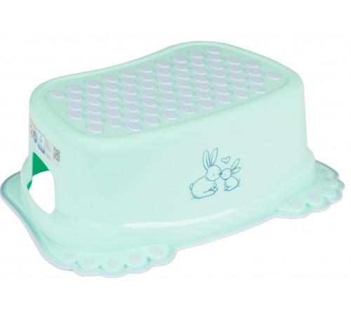 "tega baby Подставка для ножек ""Кролики"" kr-006-105 зелёный"