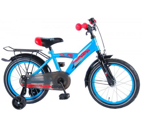 """volare 81615  bicicleta """"thombike 16"""" albastru"""