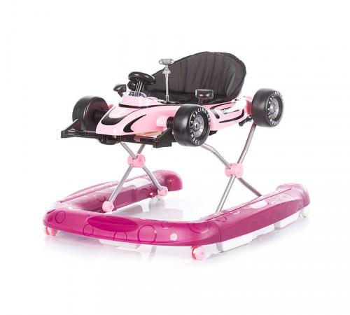 chipolino ходунок racer 4 в 1 prmf01702fp розовый