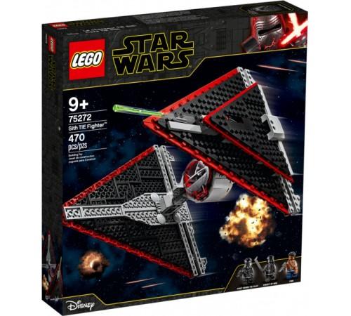 """lego star wars 75272 Конструктор """"Истребитель СИД ситхов"""" (470 дет.)"""