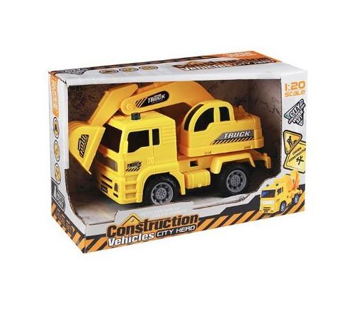 """Jucării pentru Copii - Magazin Online de Jucării ieftine in Chisinau Baby-Boom in Moldova op МЕ01.164 masina cu inertie """"excavator"""""""